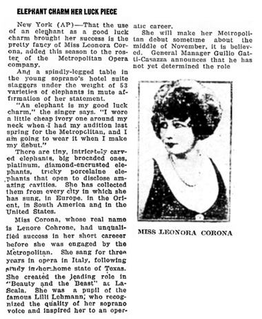 Havre Daily News Promoter (Havre, Montana), November 18, 1927, page 3, columns 1-2.