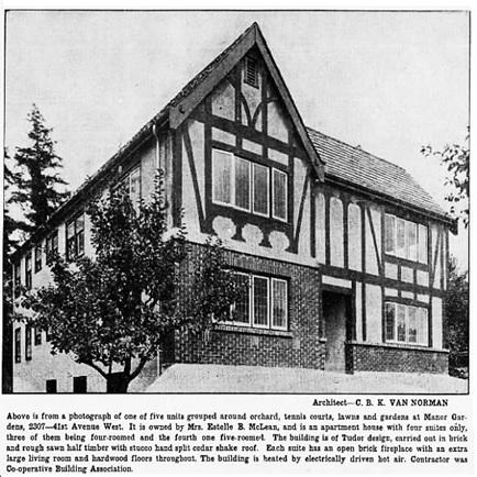 Vancouver Sun, August 8, 1931, page 28, columns 3-6.