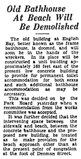 Vancouver Sun, January 23, 1931, page 4, column 2.