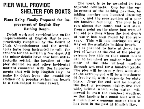 Vancouver Province, February 1, 1907, page 13, column 5.