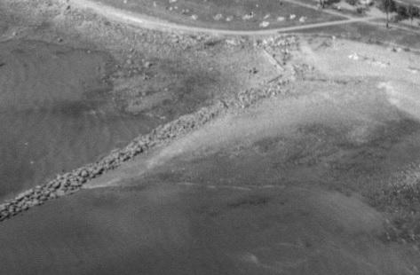 Rocks for English Bay Pier, detail from First Beach, 1954; BO-54-211; http://vintageairphotos.com/bo-54-211/.