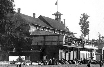The Pavilion and the Crescent, 1899, detail from English Bay Beach; Vancouver City Archives, Be P81; https://searcharchives.vancouver.ca/english-bay-beach-9.