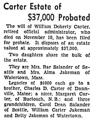 Vancouver Sun, December 29, 1937, page 14, column 7.