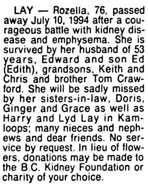 Vancouver Sun, July 14, 1994, page 24, column 4.