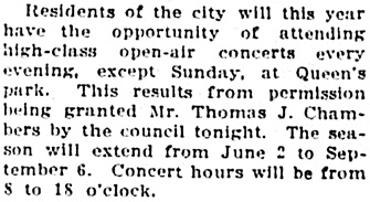 Vancouver Sun, March 11, 1913, page 5, column 7.