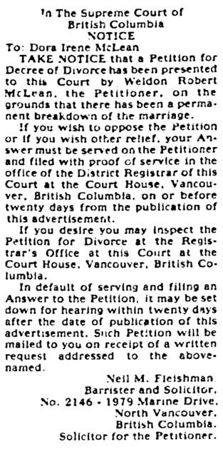 Vancouver Sun, April 8, 1978, page F17.