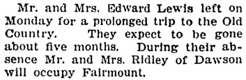 Edward Lewis and Henry Ridley - Vancouver Province - November 4 1905 - page 11 - column 1
