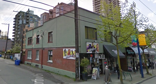 980 Denman Street - Google Streets - searched August 10 2019 - image dated April 2009