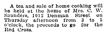 Vancouver Daily World, February 6, 1918, page 5, column 3.