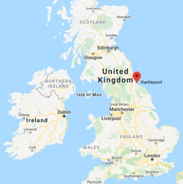 Hartlepool - England - Google Maps - searched June 16 2020