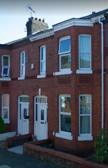 Number 5 - Brereton Avenue - Liverpool - England - Google Streets - searched July 13 2020 - image dated September 2008
